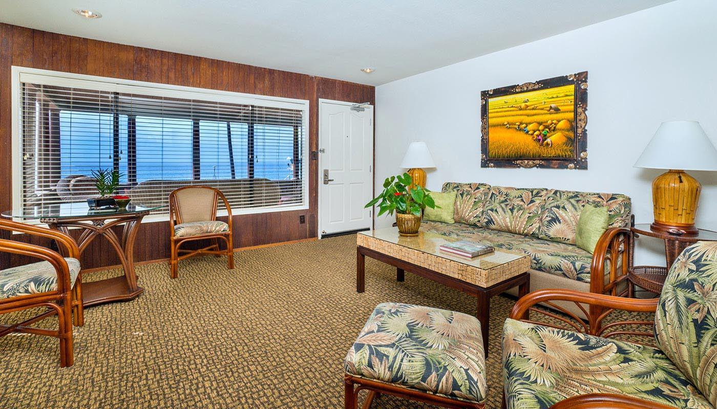 One Bedroom Cottage Living Room