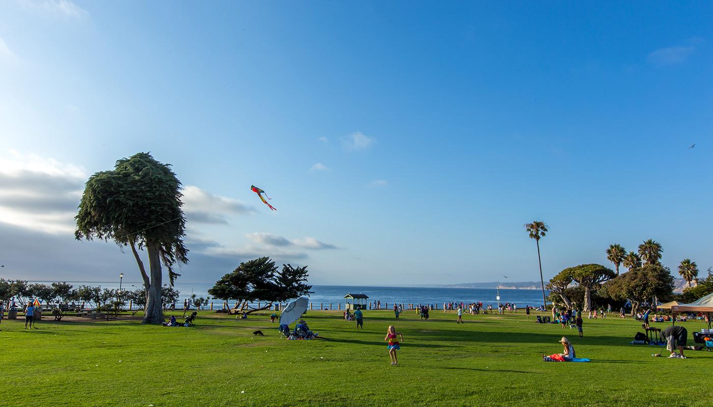 Scripps Park La Jolla