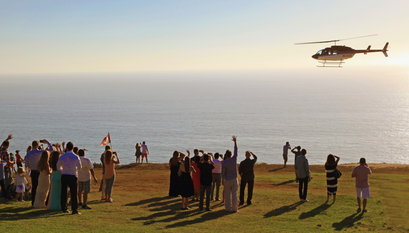 San Diego helicopter tours