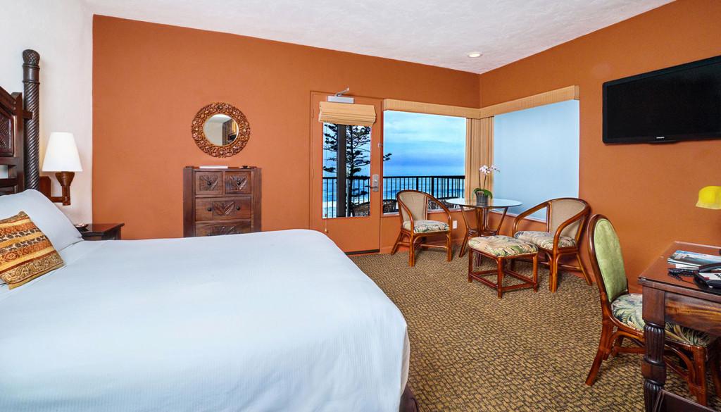 Pantai Inn La Jolla Studio Hotel Room